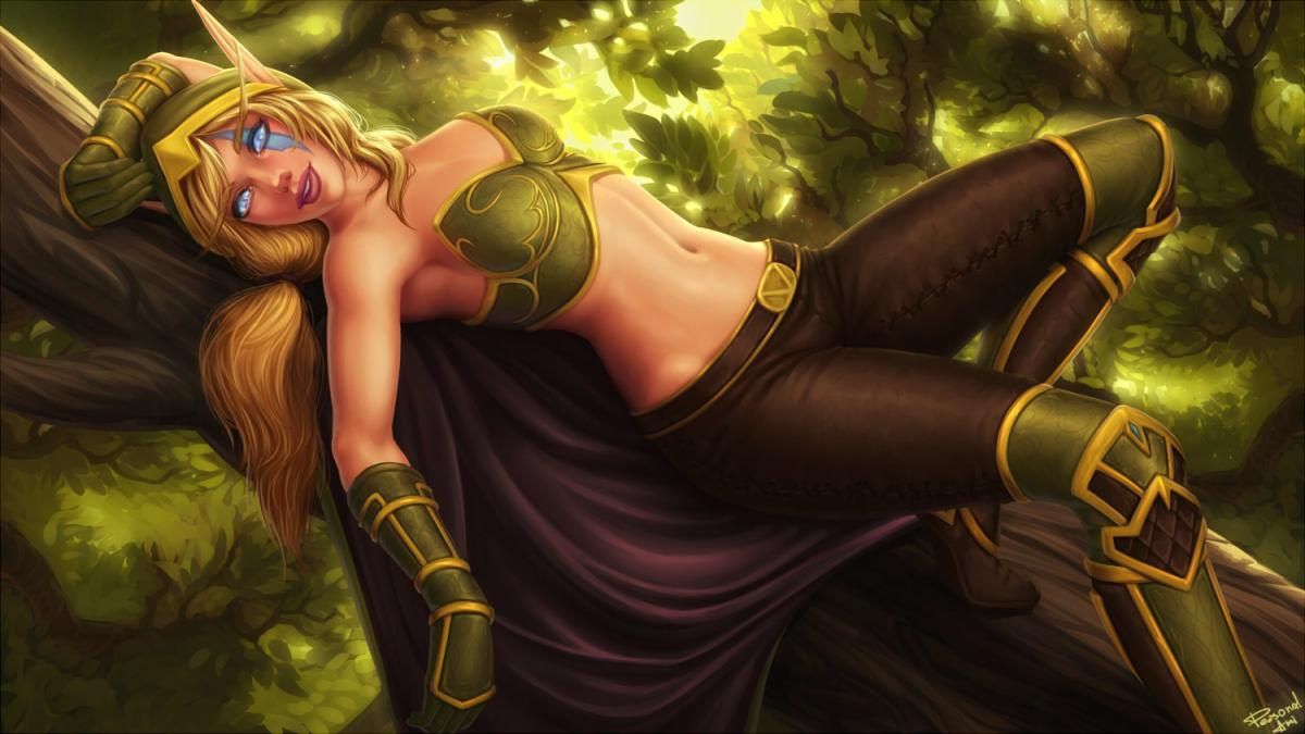 World of warcraft hot nude blonde babes porn comics