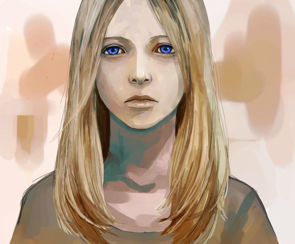 Фото девушек на аву арты