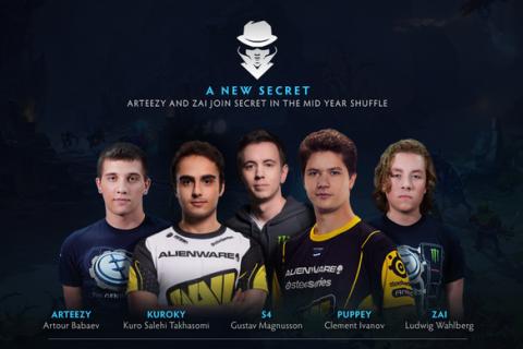 Team Secret eSports   ВКонтакте