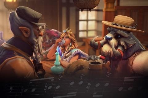 Музыкальный набор для Dota 2 от AWOLNATION. Клип с дракой