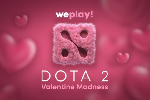 WePlay! Valentine Madness. Купидоны и плюшевые медведи в студии аналитики, WePlay в деле.