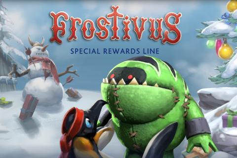 В Dota 2 начался «Frostivus» и появилась Аркана на Ogre Magi