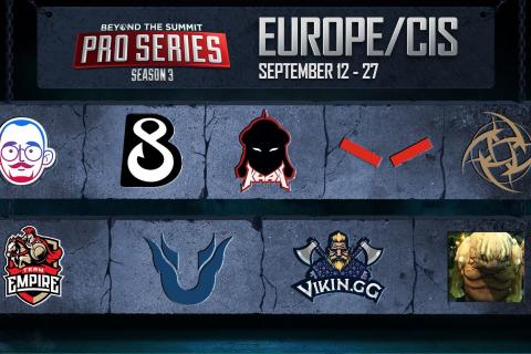 BTS Pro Series Season 3: Europe/CIS Group Stage