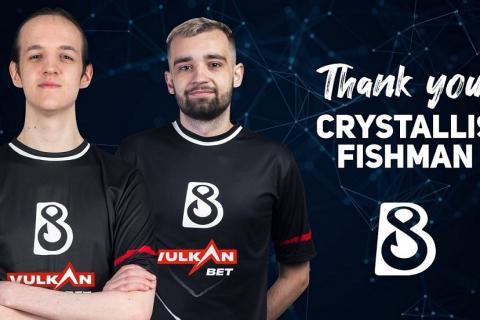 Crystallis и Fishhman покидают B8