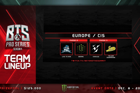 BTS Pro Series Season 4: Europe/CIS