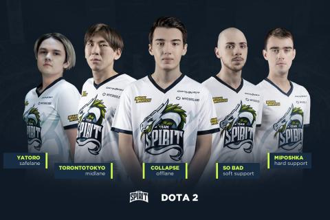 Team Spirit анонсировала новый состав